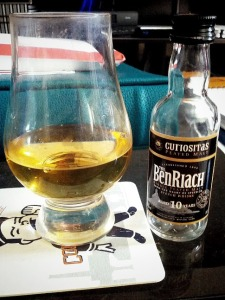 01 - BenRiach 10 year Curiositas