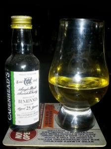 Benrinnes 25 Cadenheads 1