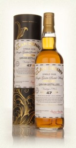 Girvan 47 year old 1965 (cask 9487) The Clan Denny 1