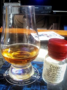 Girvan 47 year old 1965 (cask 9487) The Clan Denny 2