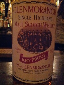 Glenmorangie 10 100 Proof