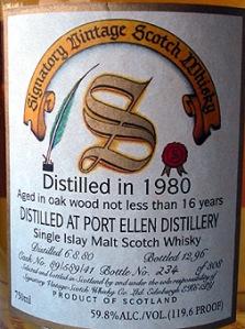 Port Ellen Sig