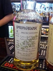 Springbank 12 Calvados 1