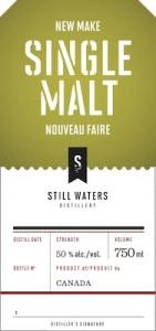 Still Water New Make Single Malt