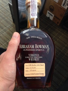 4 - Abraham Bowman Apple Cider Finish