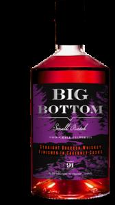 Big Bottom Straight Bourbon Whiskey, Cabernet Cask Finish 1