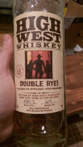 High West Double Rye! (Peated Cask) 1