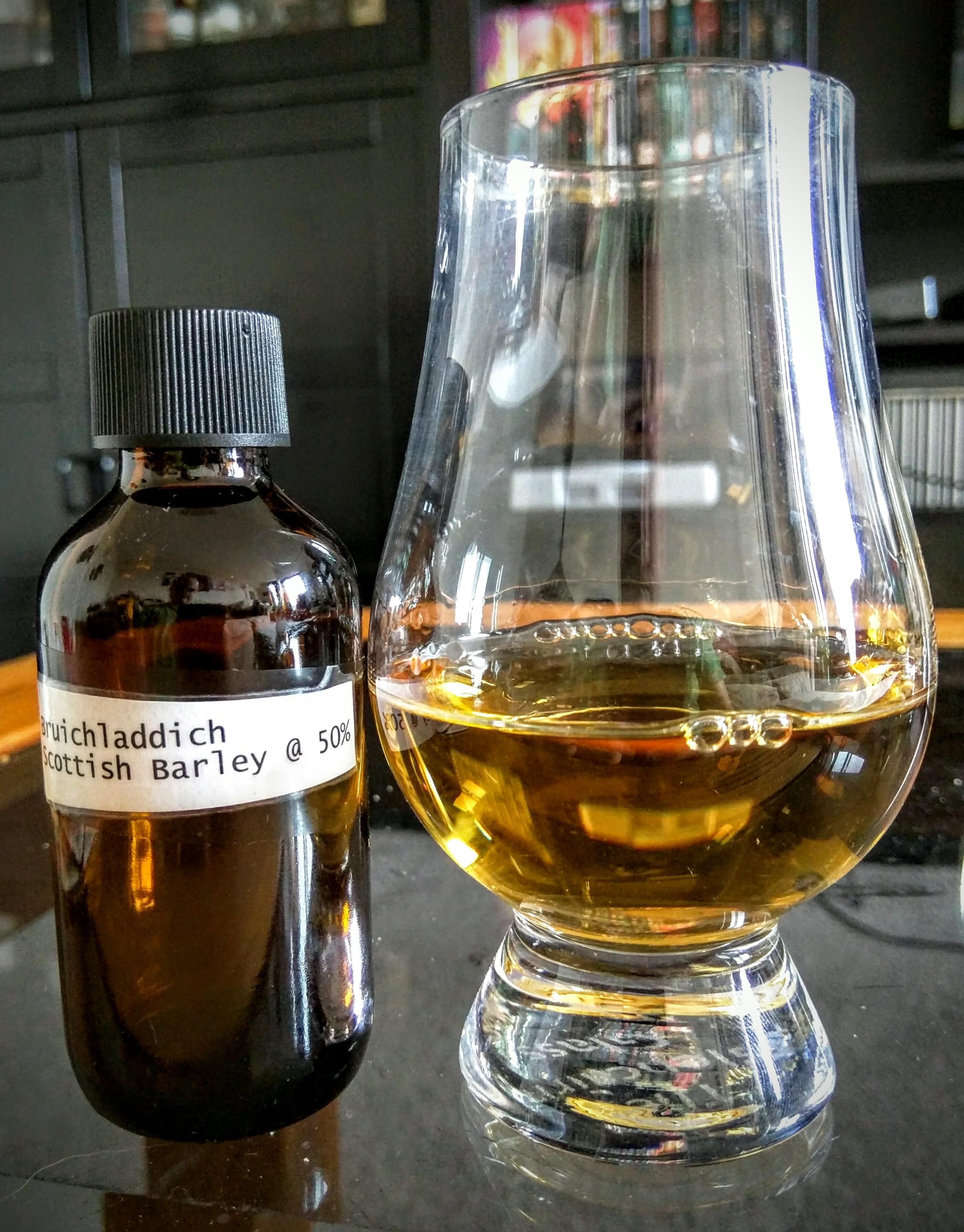 Bruichladdich the classic laddie scottish barley - Bruichladdich port charlotte heavily peated ...