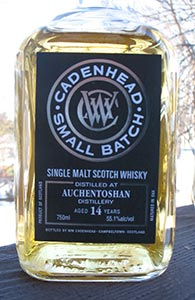 Auchentoshan 14 Cadenheads Small Batch 1