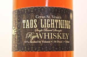 Taos Lightning 17 Year Old Straight Rye Whiskey 1