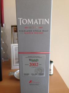 Tomatin 12 Cask Strength 1