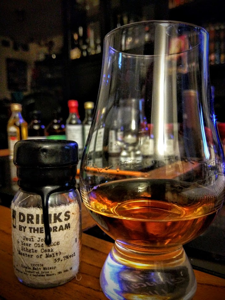 Paul John 6 2008 - Single Cask (Master of Malt) 1.jpg