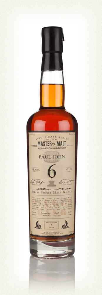 Paul John 6 2008 - Single Cask (Master of Malt) 2.jpg