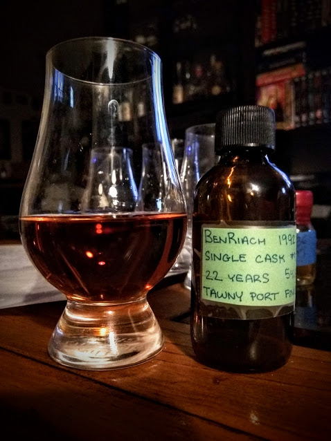 BenRiach 22 1992 Single Cask #976 Tawny Port Cask 1.jpg