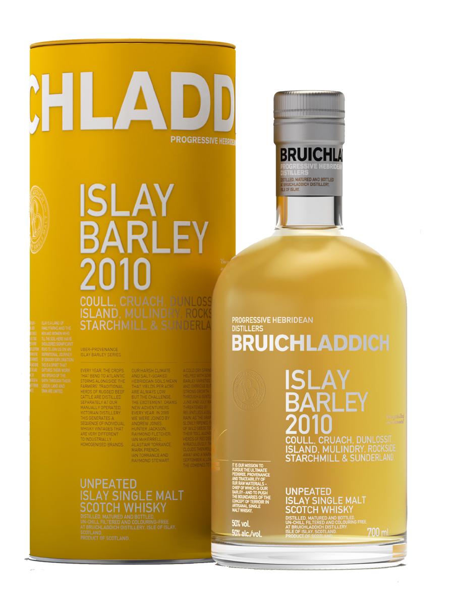 """Bruichladdich """"Islay Barley"""" 2010 Coull, Cruach, Dunlossit, Island, Mulindry, Rockside, Starchmill, Sunderland Farms 3.jpg"""