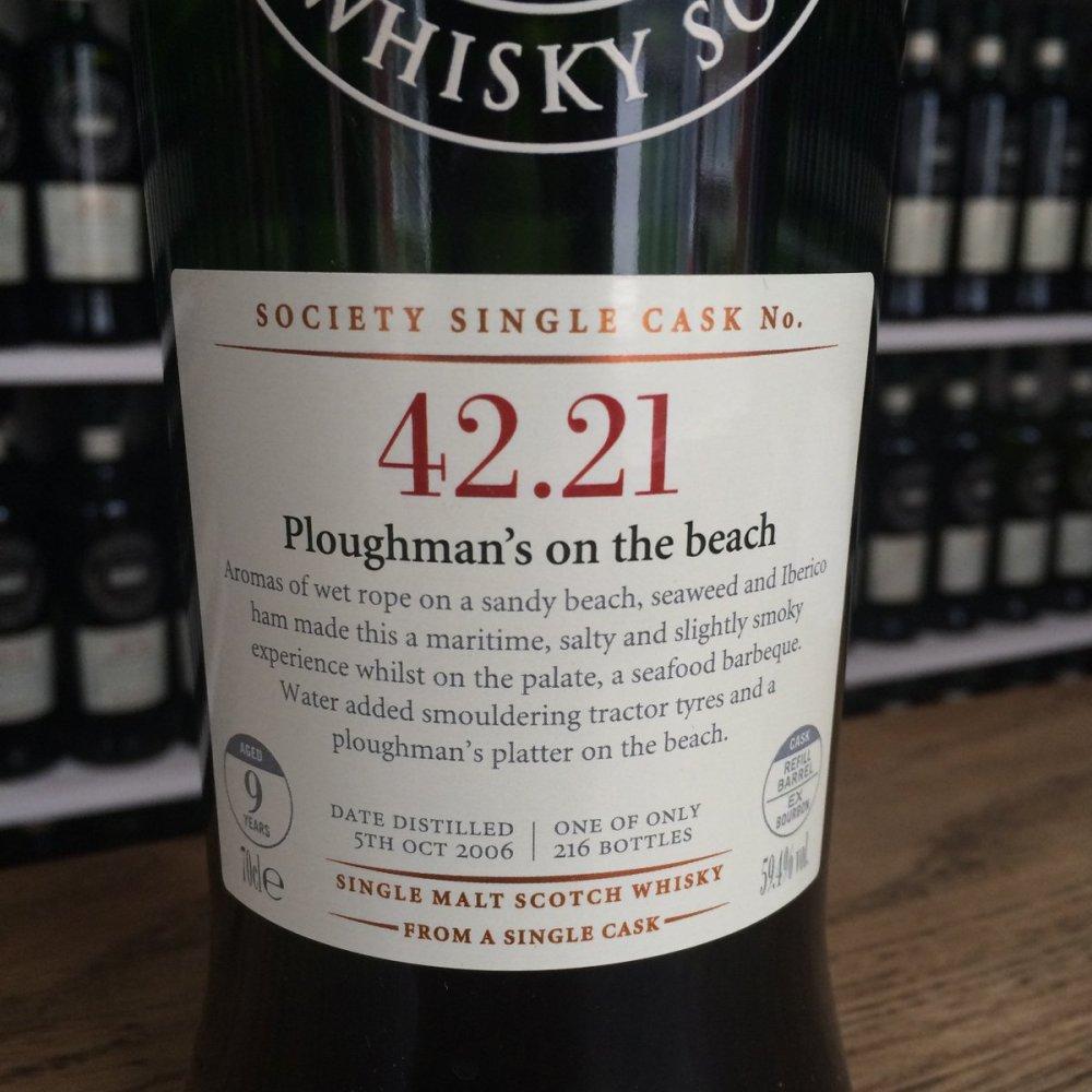 """Ledaig SMWS 42.21 """"Ploughman's on the beach"""" 4.jpg"""