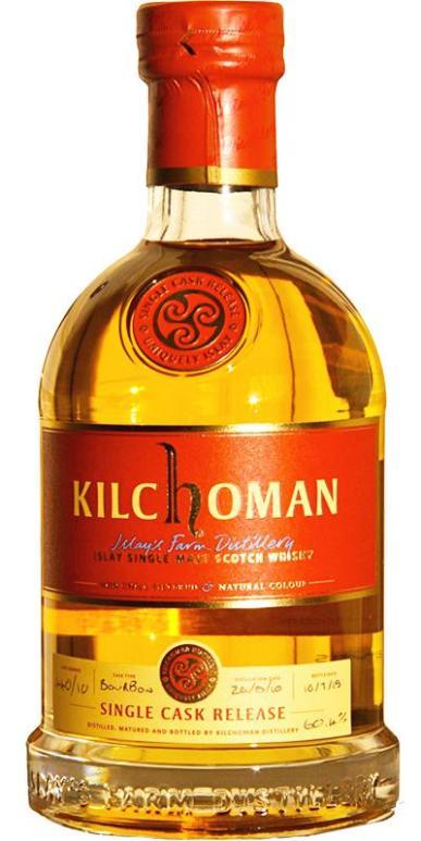 Kilchoman 5 2010 KWM Cask 440 2