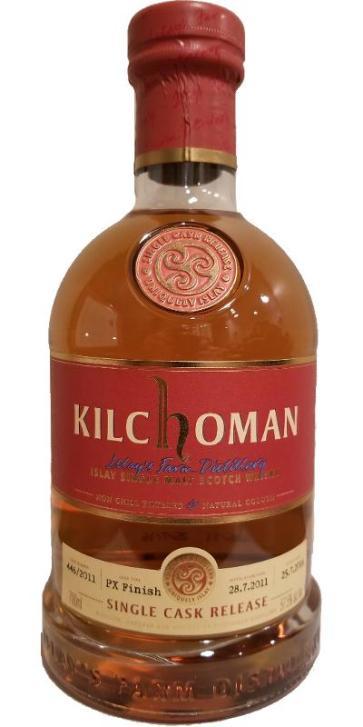 Kilchoman PX KWM Cask 446 2