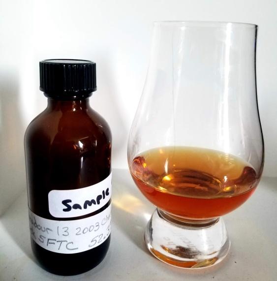 Edradour 13 2003 SFTC Chardonnay Cask 1