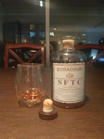 Edradour 13 2003 SFTC Chardonnay Cask 2