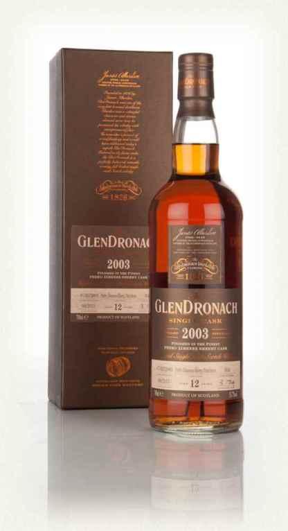 GlenDronach 12 2003 Cask 934 Batch 12 2