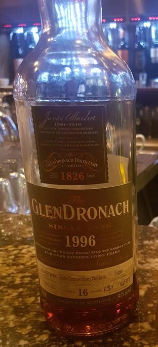 GlenDronach 16 PX Puncheon 2