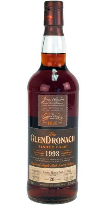 GlenDronach 20 1993 Single Cask 2