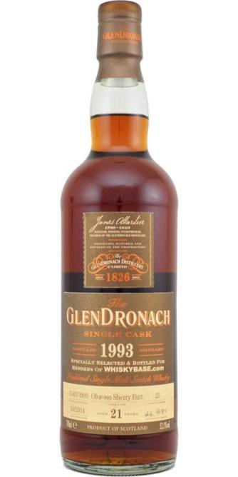 GlenDronach 21 1993 Single Cask 2