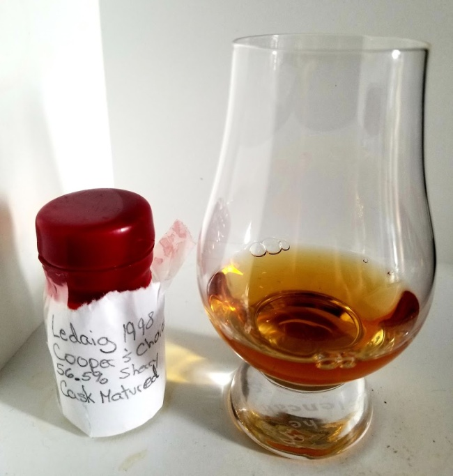 Ledaig 17 1998 Coopers Choice Sherry Cask Matured 1