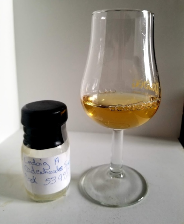 Ledaig 19 Cadenheads Single Cask 1