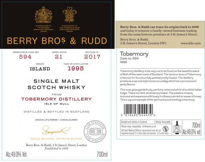 Tobermory 21 1995 Berry Bros & Rudd 2.jpg
