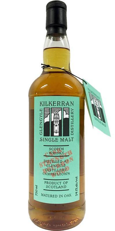 Kilkerran WIP 7 Bourbon Wood CS 2