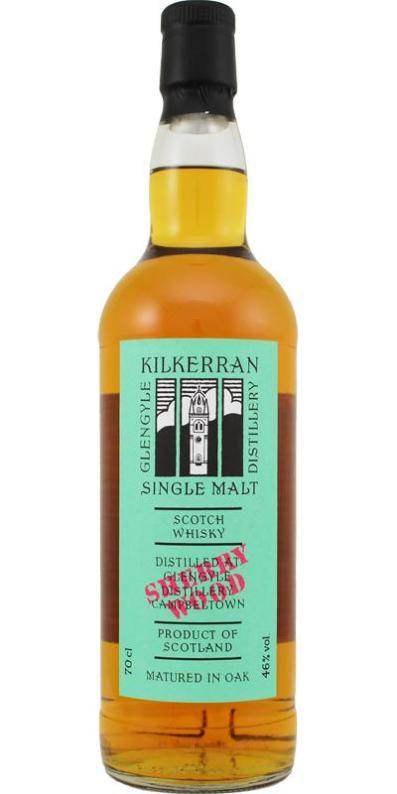 Kilkerran WIP 7 Sherry 2