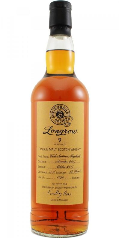 Longrow 9 Sauternes 2