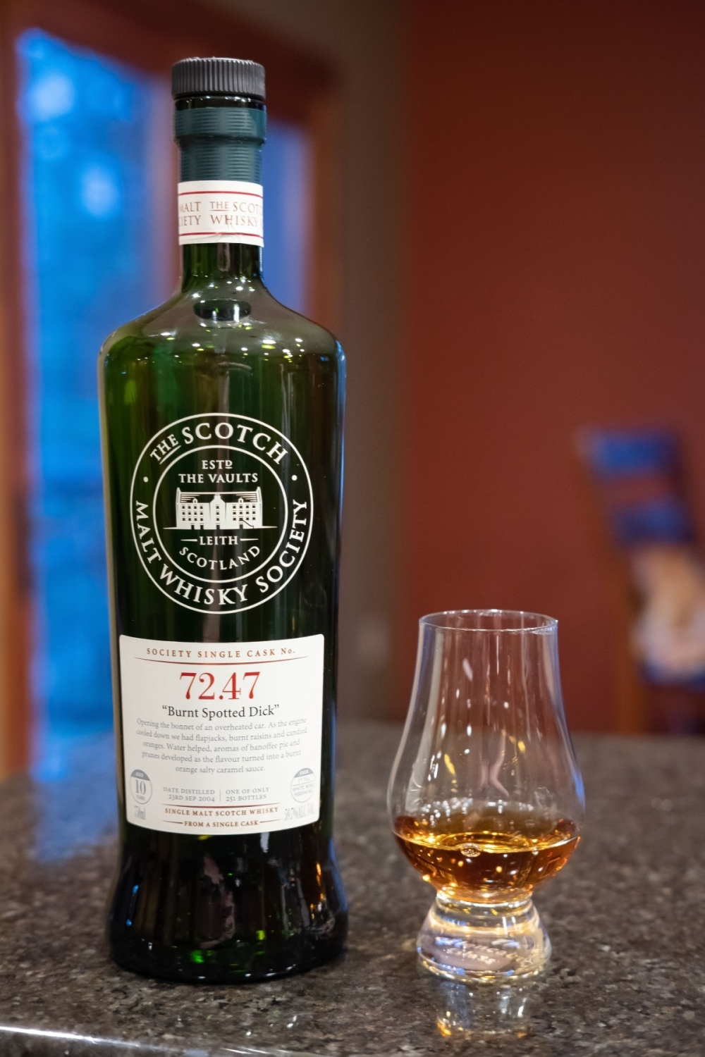 "Miltonduff SMWS 72.47 ""Burnt Spotted Dick"" 2.jpg"