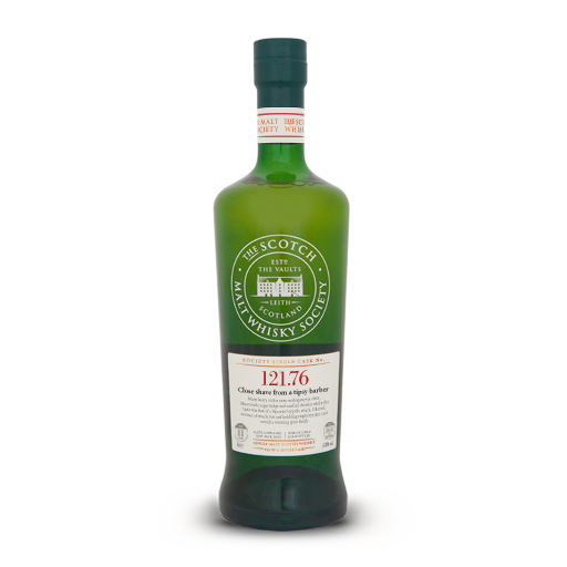 """Arran SMWS 121.76 """"Close shave from a tipsy barber"""" 2.png"""