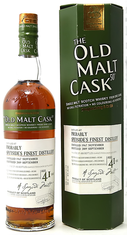 Probably Speyside's Finest 41 1967 Old Malt Cask Douglas Laing 2.jpeg